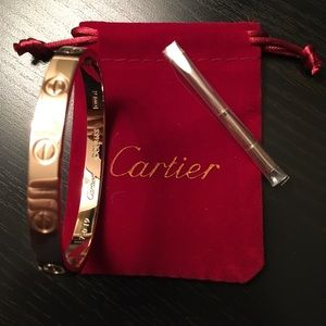 New Cartier Love Bracelet Rose Gold Nubnubnibninjn